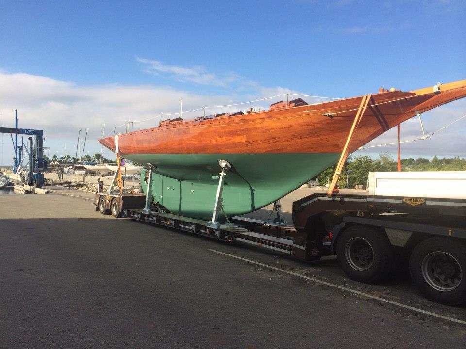 Båd transport